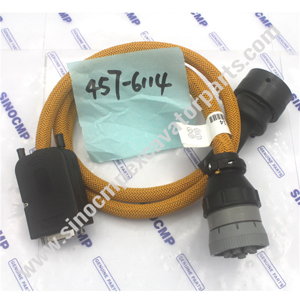457-6114 Caterpillar Excavator Wire Harness USD Cable