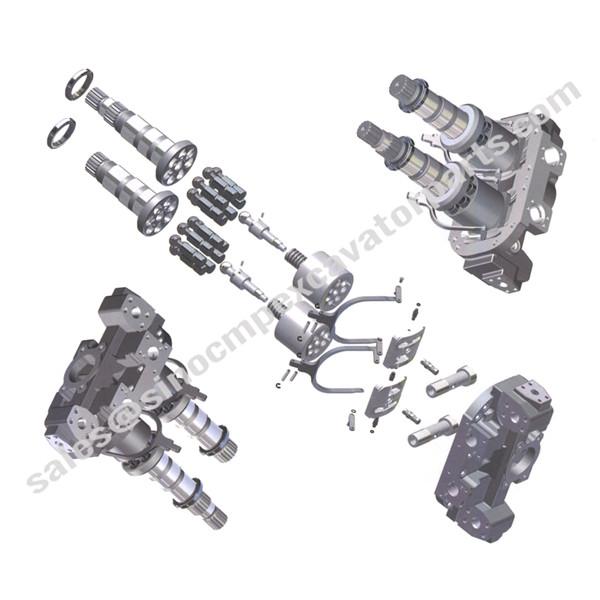 hpv 102 spare parts fit hitachi main hydraulic pump excavator